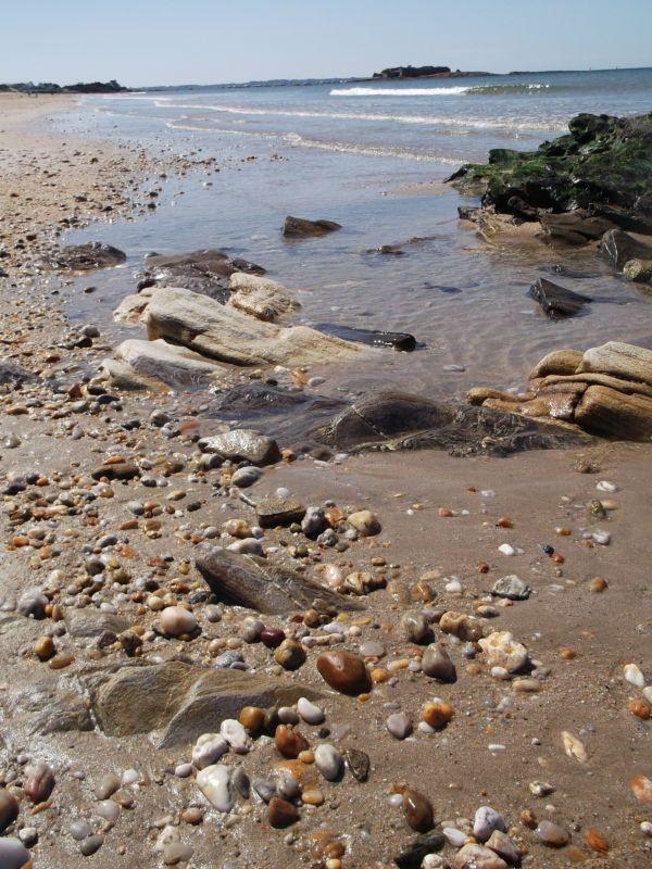 bord de mer en bretagne fort bloqué