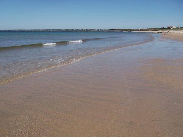 beauté bretagne fort bloqué plage