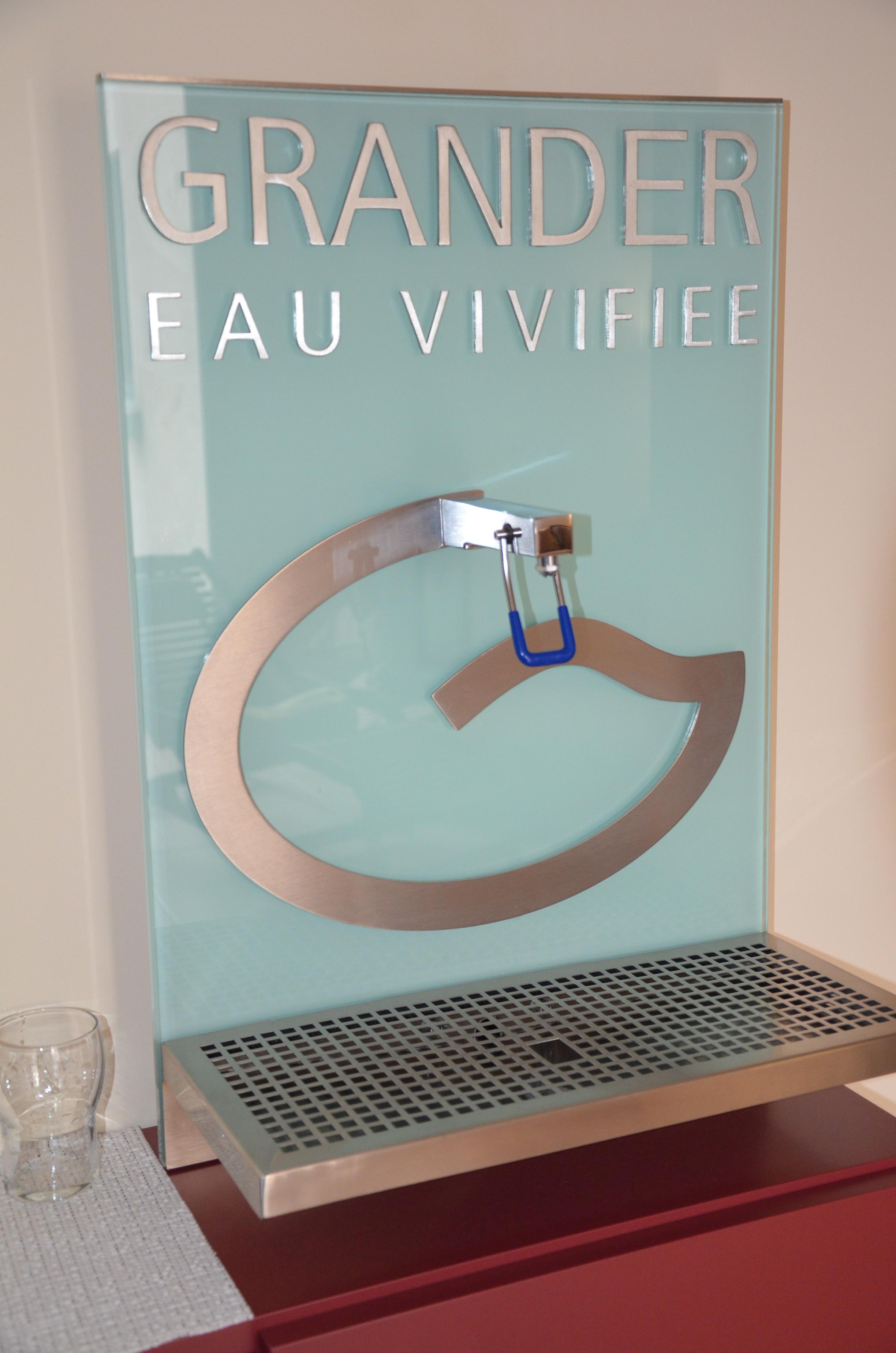 eau vivifiée- eau dynamisée